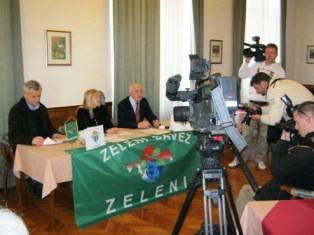 Zelena stranka predstavila svoj program za Lokalne izbore 2013