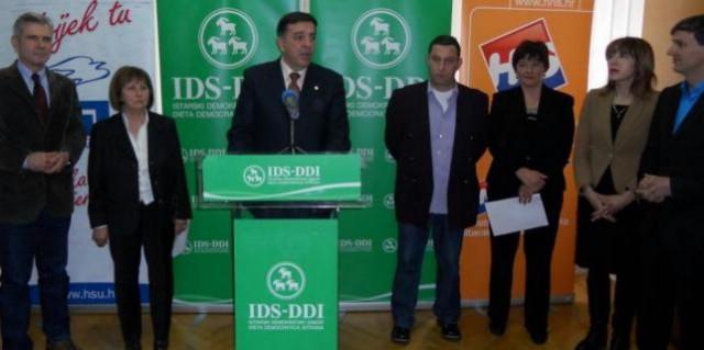Labin: Tulio Demetlika kandidat liste IDS-HSU-HNS / Labinski gradonačelnik u borbi za četvrti mandat