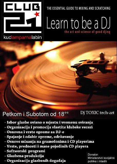 Najava: DJ radionice u Klubu mladih