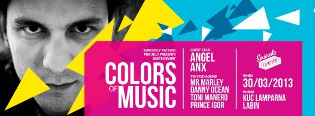 COLORS OF MUSIC w/ Angel Anx @ KUC Lamparna, Labin 30.03.2013.