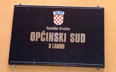 Nema predstavki na rad općinskog suda u Labinu