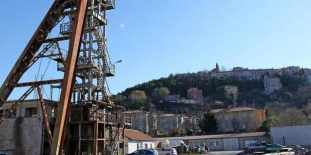 Labin kao rudnik kulture na karti Europe