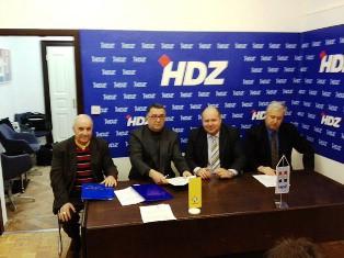 HDZ na izbore s Demokršćanima