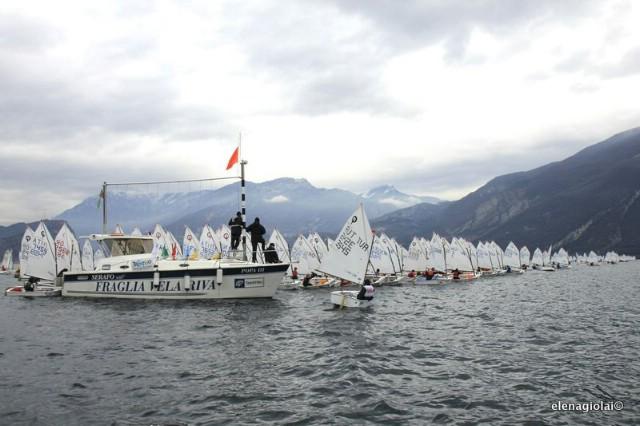 JedriličarI kluba Kvarner iz Rapca sudjelovali na najvećoj međunarodnoj regati za klasu Optimist - 31° Lake Garda Meeting