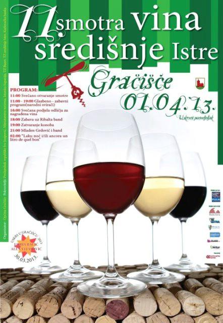 Na 11. smotri vina u Gračišću tisuće posjetitelja