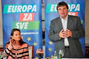 Nezavisna lista Ivana Jakovčića za Europski parlament predstavila se u Splitu i Šibeniku