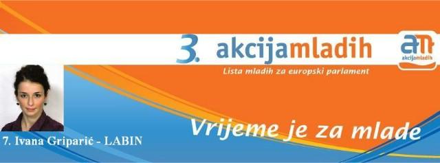 Kandidacijska lista Akcije mladih za Europski parlament