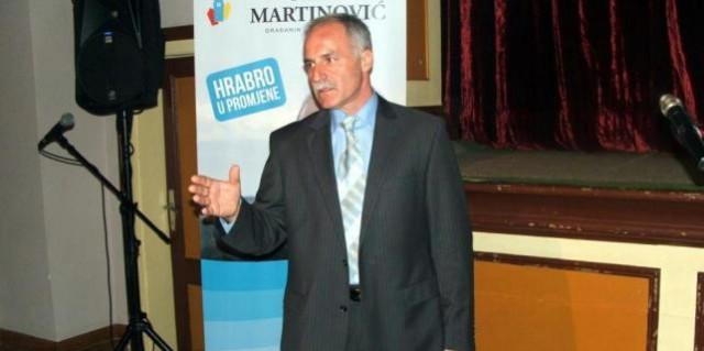 Predstavljanje Darka Martinovića,  nezavisnog kandidata za gradonačelnika Grada Labina