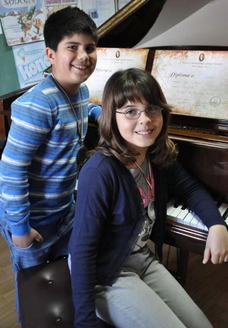 Srebro i bronca mladim labinskim glazbenicima na zahtjevnom 4. međunarodnom natjecanju `Antonio Salieri` u Veroni