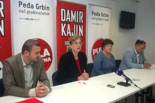 Danijel Ferić i Evelina Biasiol Brkljačić kandidati Kajinove koalicije za zamjenike župana