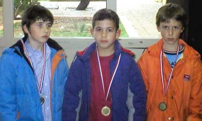 Labinjanima dva prva  mjesta i jedno drugo na županijskom kadetskom prvenstvu u šahu