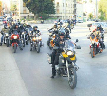 I labinski bikeri u akciji  `Karavana za život`