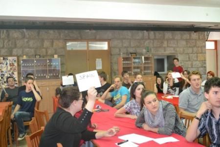 Učenici Srednje škole Mate Blažine aktivni u izjašnjavanju stavova o Europskoj uniji
