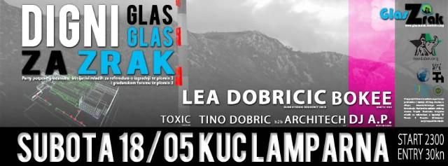 OTKAZANO!!! DIGNI GLAS - GLAS ZA ZRAK!!! - party za referendum o izgradnji elektrane na ugljen