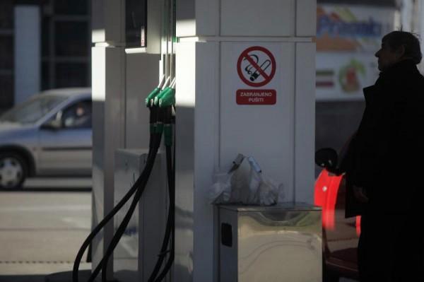 Benzini bez promjene cijena, dizeli skuplji 5 i 6 lipa