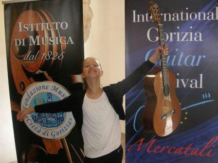 Steli Dermit srebrno na natjecanju u Italiji