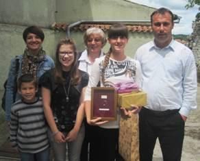 Stefani Čeh, učenica 6. razreda potpićanske osnovne škole najbolja mlada pjesnikinja na 45. Čakavskom Saboru u Žminju