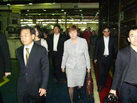 Delegacija Narodne Republike Kine u posjeti Tvornici poljoprivrednih strojeva