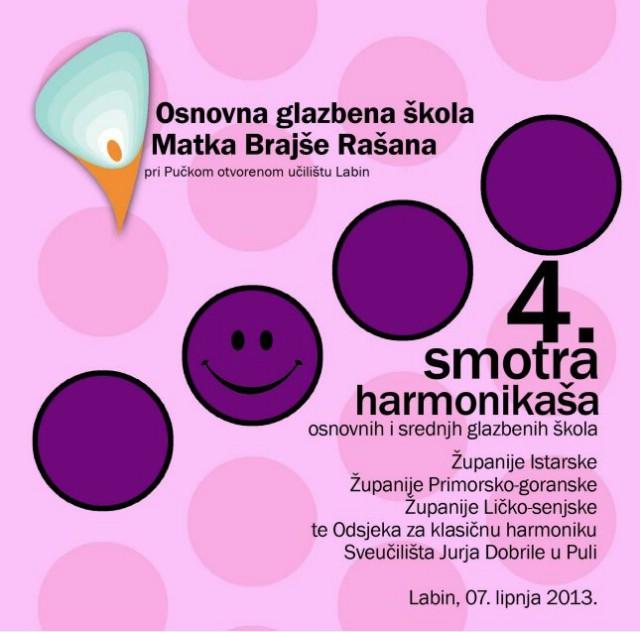 Labin u petak domaćin 4. Smotre harmonikaša Istarske, Primorsko-goranske i Ličko-senjske županije