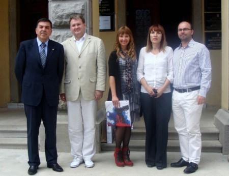 Održan prijem za partnere iz Umjetničke škole Hostivar iz Praga