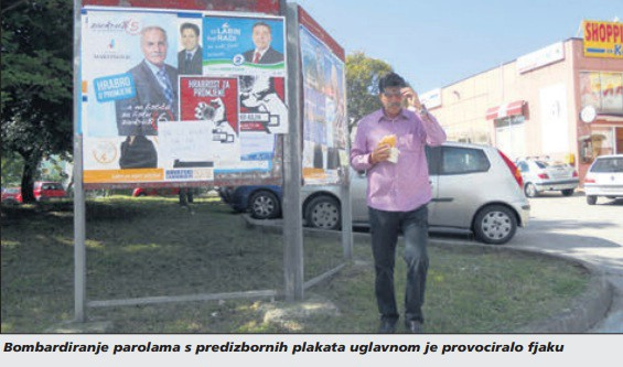Osvrt na netom završene lokalne izbore: Vajk pozdravi!