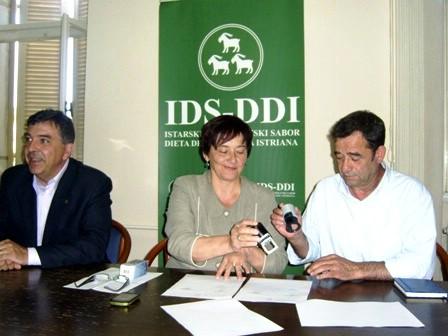 IDS i BDSH potpisali postizborni koalicijski sporazum
