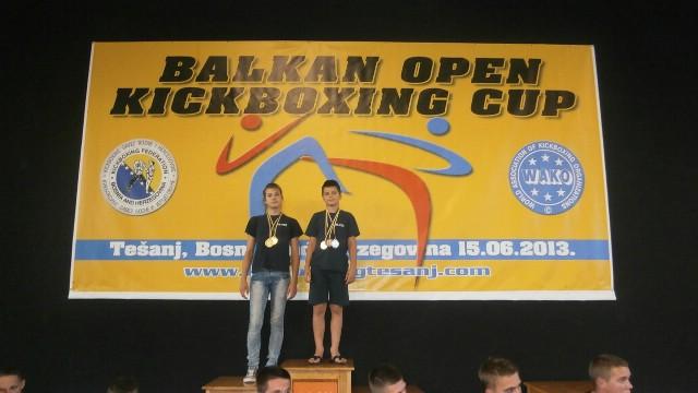 Franka Fonović i Filip Grbić pobjednici otvorenog prvenstva Balkana