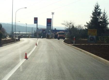 Radovi na horizontalnoj prometnoj signalizaciji