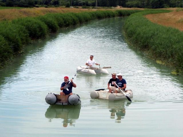 Gumenjacima plovili niz rijeku Rašu