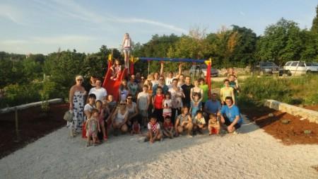 Završno uređenje dječjeg igrališta na Presici