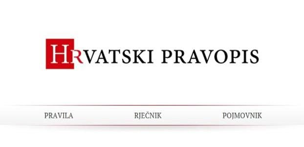 Provjerite ''Hrvatski pravopis'' na internetu