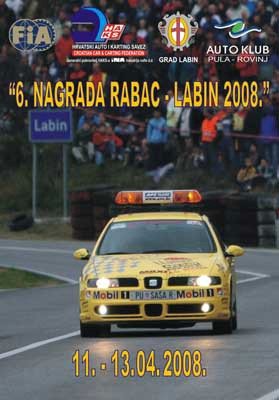 """6. nagrada Rabac-Labin 2008."" od 11. do 13. travnja"
