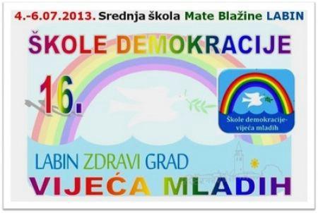 Počela 16. međunarodna Škola demokracije (04.-05.07.2013.)