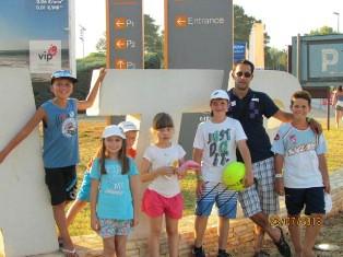 Mladi tenisači tk Rabac na Kid''s Dayu u Umagu