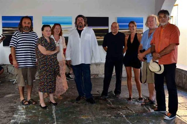 Labinski umjetnik Vinko Šaina gostovao na izložbi u Kastvu