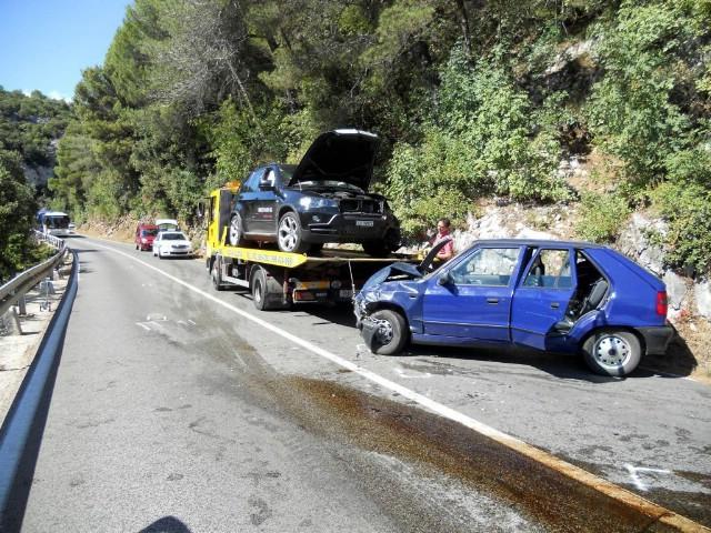 Sudar na cesti Labin - Rabac, dvoje ozlijeđenih