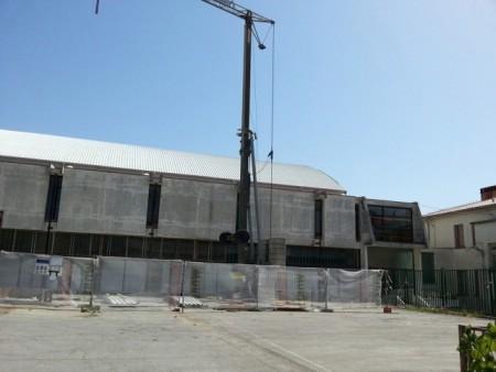 U tijeku radovi na sanaciji krova sportske dvorane Mate Blažine