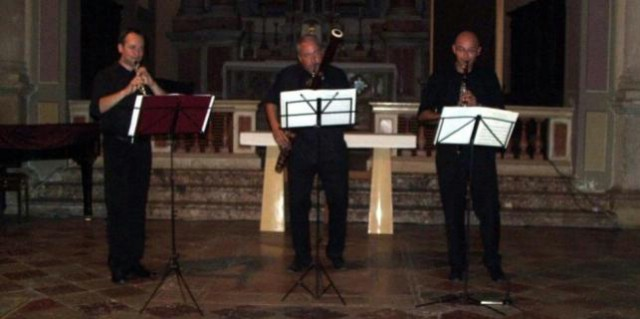 Zagrebački puhački trio pred labinskom publikom