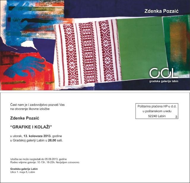 Otvorenje izložbe Zdenke Pozaić u Gradskoj galeriji