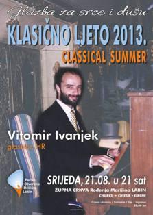 Koncert Vitomira Ivanjeka u starogradskoj Župnoj crkvi