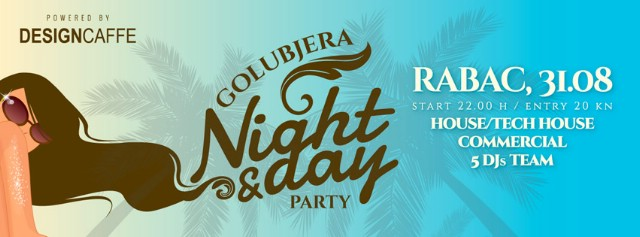 GOLUBJERA NIGHT & DAY PARTY za zatvaranje ljetne sezone u Rapcu