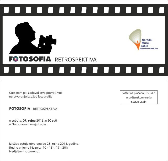 U labinskom Narodnom muzeju izložba fotografija Fotosofia
