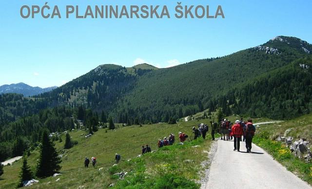 Poziv na upis u Opću planinarsku školu  (24.09. – 15.12.2013.)