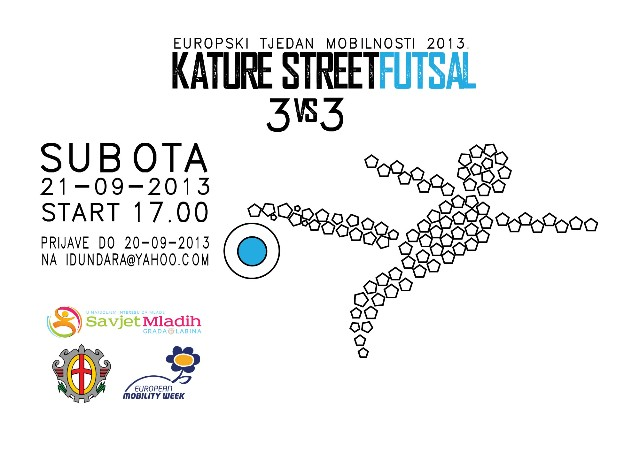 Kature Street Futsal (3VS3) - Europski tjedan mobilnosti 2013.