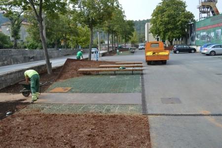 Uređuje se okoliš oko nove Gradske knjižnice