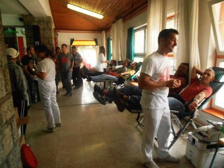 Na izvandrednoj akciji dobrovoljnog darivanja krvi prikupljene 83 doze krvi - čak 7 novih darivatelja