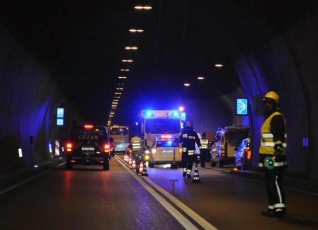 Tunel Učka: U nesreći ozlijeđeni supružnici iz Labina