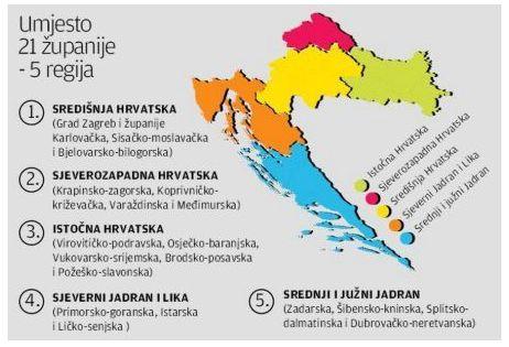 Bauk najavio reformu državne uprave, župani u strahu: Centri Zagreb, Varaždin, Osijek, Rijeka i Split