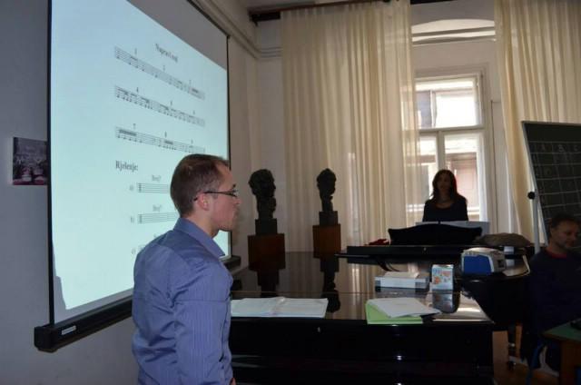 Učitelji Osnovne glazbene škole Matka Brajše Rašana na Stručnom skupu u Zagrebu