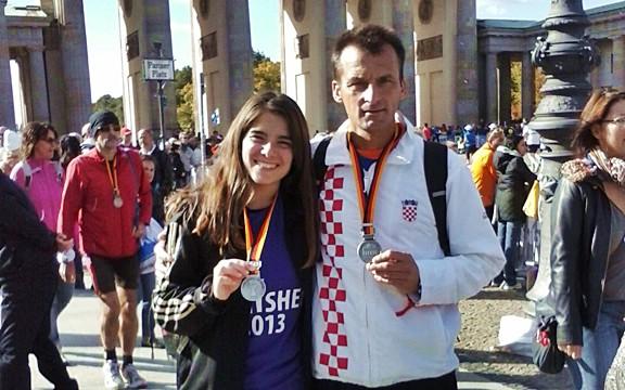 Ivana Milošević i Ivan Stanić istrčali berlinski maraton